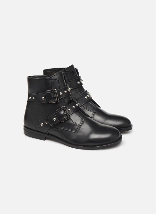 Bottines et boots Zadig & Voltaire Bottines X19010 Noir vue 3/4