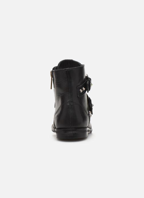Boots en enkellaarsjes Zadig & Voltaire Bottines X19010 Zwart rechts