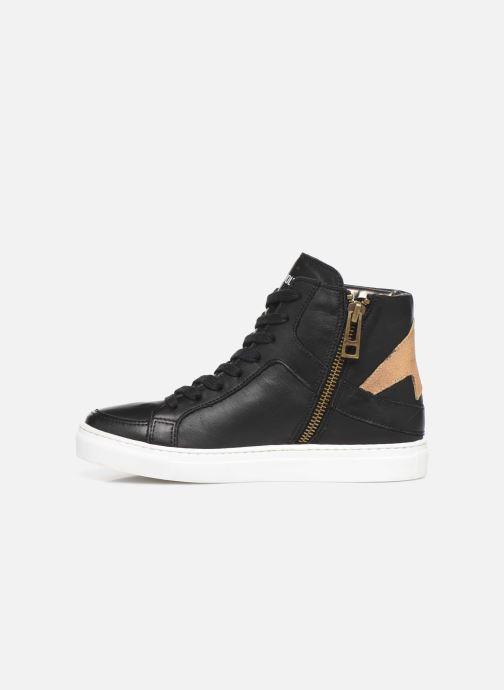 Sneakers Zadig & Voltaire Baskets X19012 Nero immagine frontale