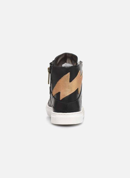 Sneaker Zadig & Voltaire Baskets X19012 schwarz ansicht von rechts