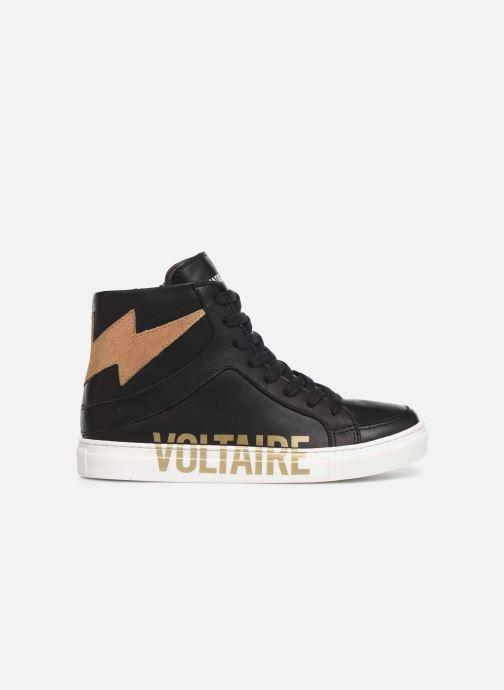 Sneaker Zadig & Voltaire Baskets X19012 schwarz ansicht von hinten