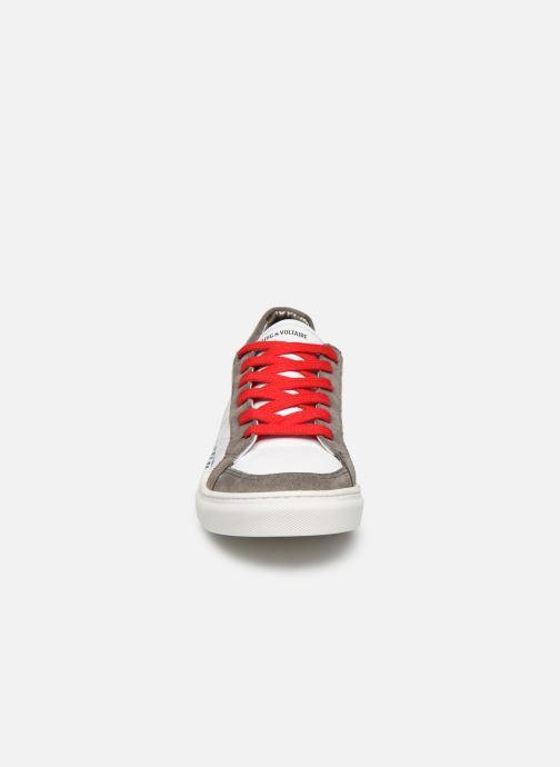 Baskets Zadig & Voltaire Baskets X29010 Blanc vue portées chaussures