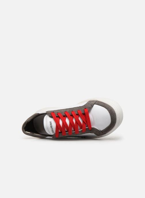 Sneakers Zadig & Voltaire Baskets X29010 Wit links