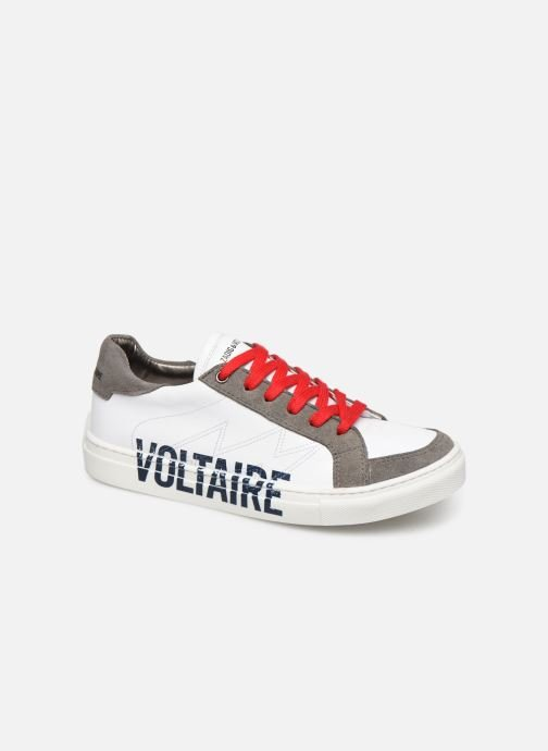 Trainers Zadig & Voltaire Baskets X29010 White detailed view/ Pair view