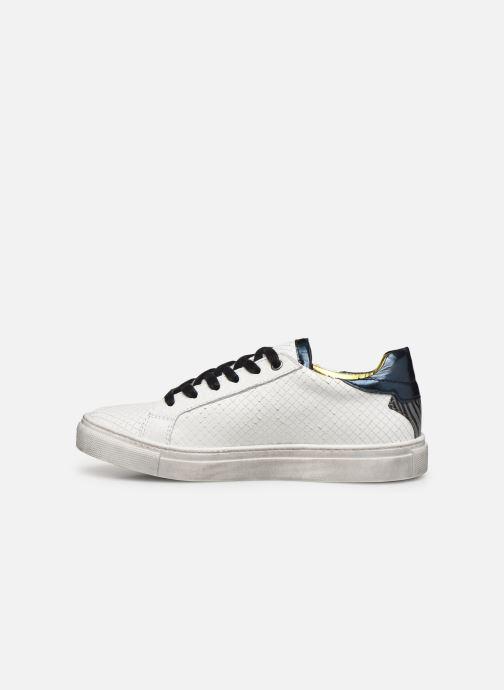 Deportivas Zadig & Voltaire Sneakers X19009 Blanco vista de frente