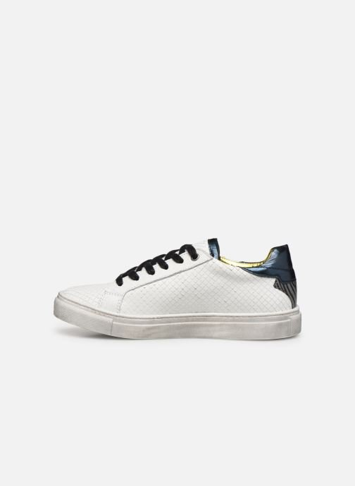Baskets Zadig & Voltaire Sneakers X19009 Blanc vue face