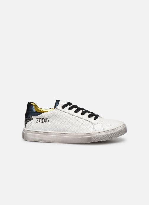 Baskets Zadig & Voltaire Sneakers X19009 Blanc vue derrière