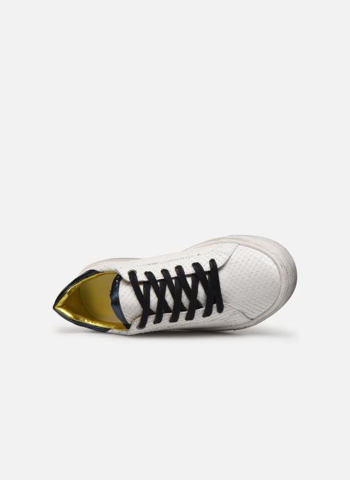 Deportivas Zadig & Voltaire Sneakers X19009 Blanco vista lateral izquierda