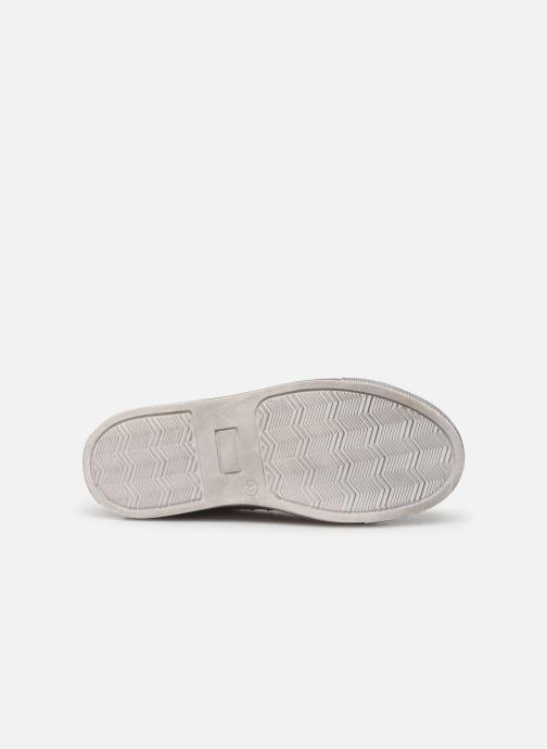 Baskets Zadig & Voltaire Sneakers X19009 Blanc vue haut