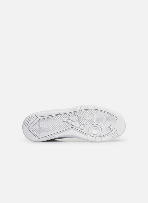 Sneakers Diadora Action Bianco immagine dall'alto