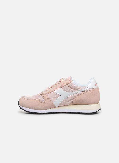 Sneakers Diadora Caiman Wn Rosa immagine frontale