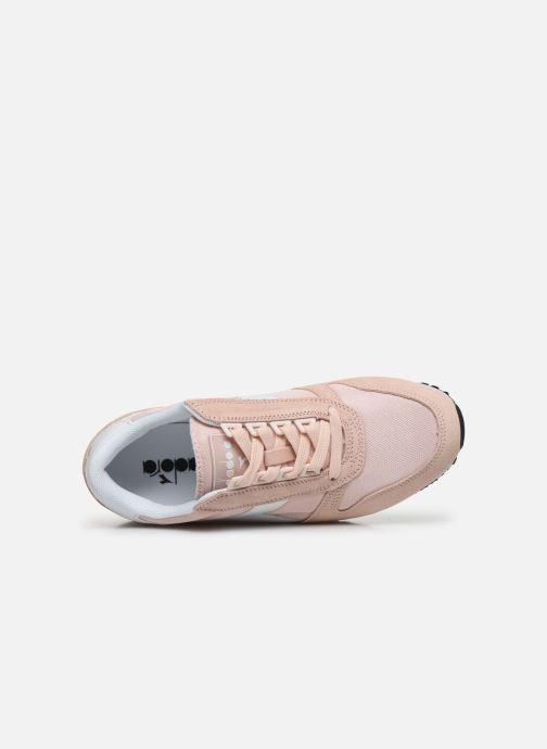 Sneakers Diadora Caiman Wn Rosa immagine sinistra