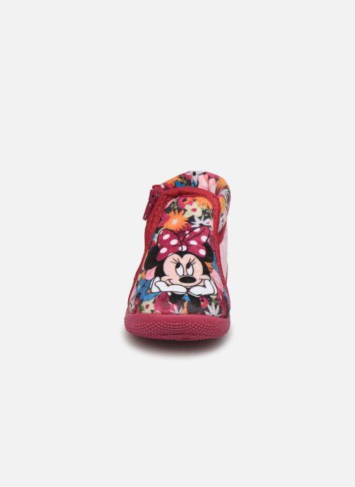 Hausschuhe Minnie Sensation rosa schuhe getragen