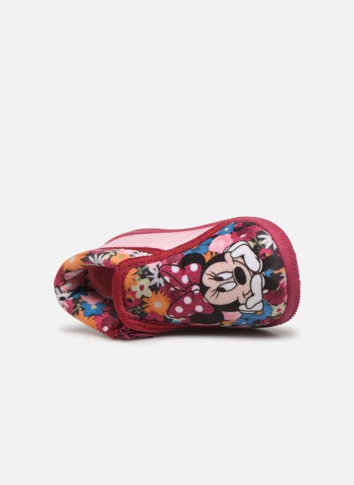 Hausschuhe Minnie Sensation rosa ansicht von links