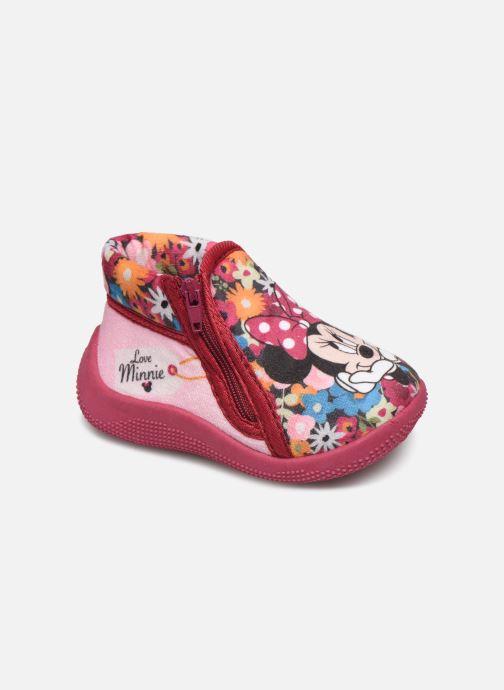 Pantoffels Minnie Sensation Roze detail