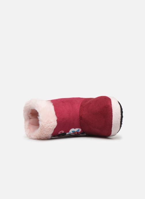 Pantuflas Minnie Stick Vino vista lateral izquierda