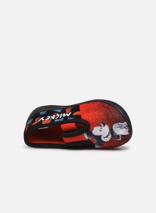 Pantuflas Mickey Mouse Spectacle Rojo vista lateral izquierda