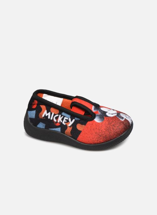 Chaussons Mickey Mouse Spectacle Rouge vue détail/paire