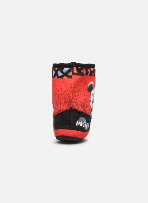 Chaussons Mickey Mouse Stick Rouge vue droite