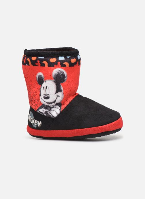 Chaussons Mickey Mouse Stick Rouge vue derrière