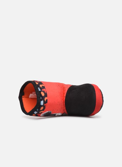 Chaussons Mickey Mouse Stick Rouge vue gauche