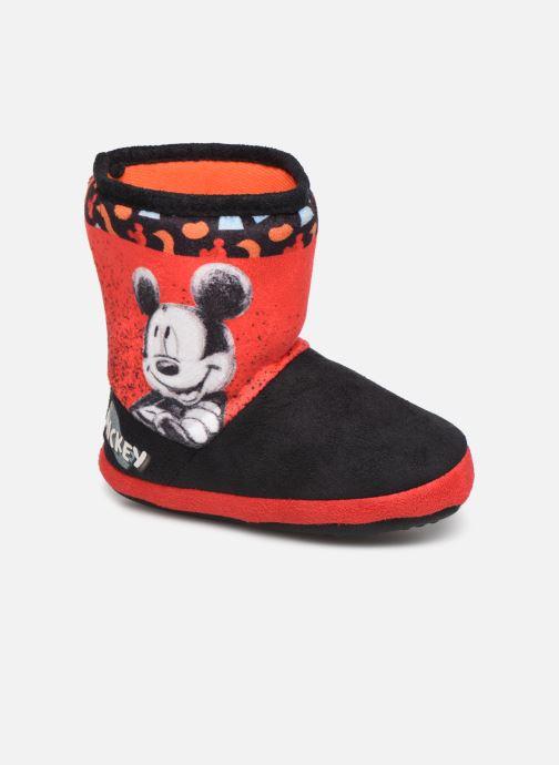 Chaussons Mickey Mouse Stick Rouge vue détail/paire