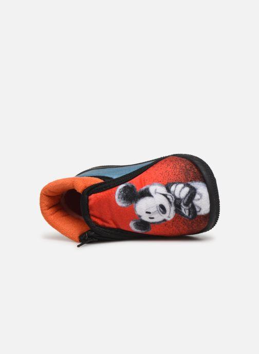 Pantuflas Mickey Mouse Sensation Rojo vista lateral izquierda