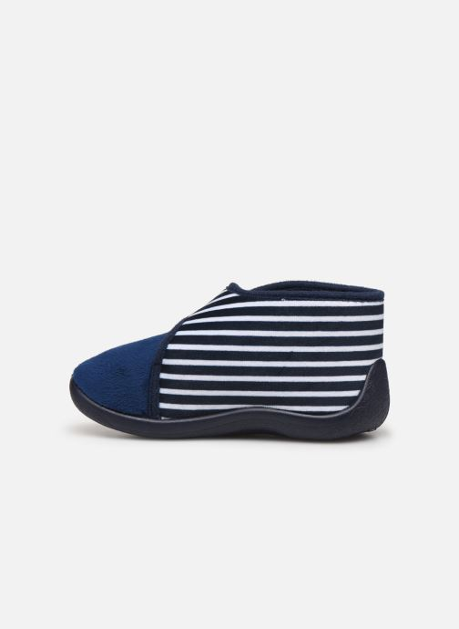 Chaussons Armor Lux Chaussons Galia Bleu vue face