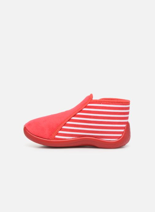 Slippers Armor Lux Chaussons Graff Red front view