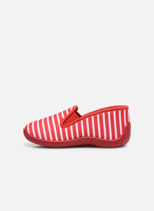 Chaussons Armor Lux Chaussons Gentil Rouge vue face