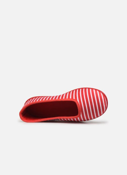 Pantoffels Armor Lux Chaussons Salon Rood links