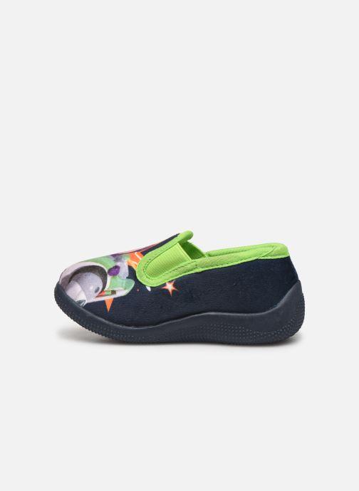 Pantuflas Toy Story Serillon Azul vista de frente