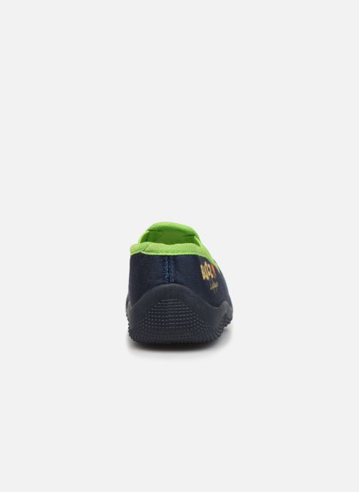 Hausschuhe Toy Story Serillon blau ansicht von rechts