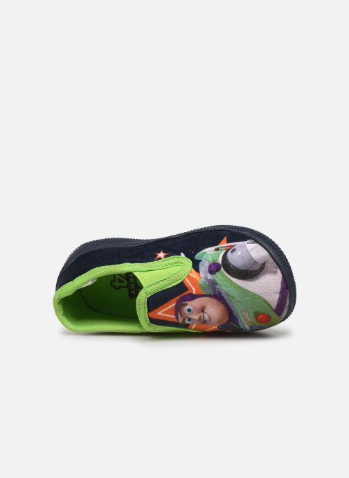 Pantuflas Toy Story Serillon Azul vista lateral izquierda