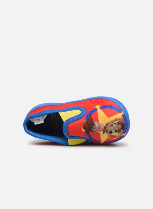 Chaussons Toy Story Serillon Rouge vue gauche