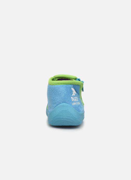 Chaussons Toy Story Sursaut Bleu vue droite