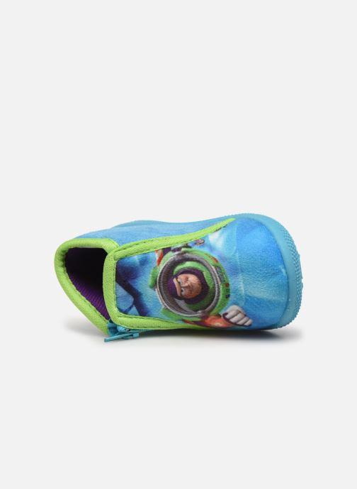 Chaussons Toy Story Sursaut Bleu vue gauche