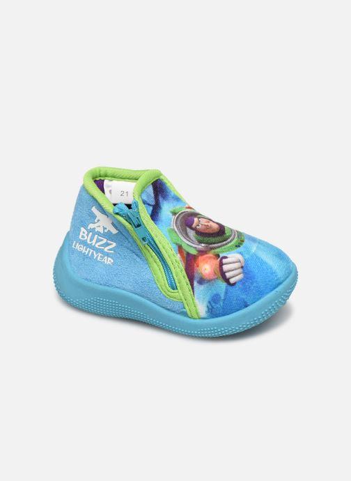 Pantuflas Toy Story Sursaut Azul vista de detalle / par