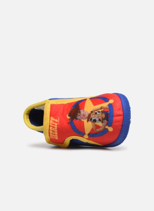 Pantuflas Toy Story Sursaut Rojo vista lateral izquierda