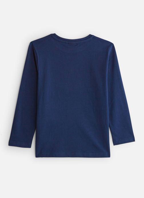 Vêtements BOSS T-shirt J25E45 Bleu vue bas / vue portée sac