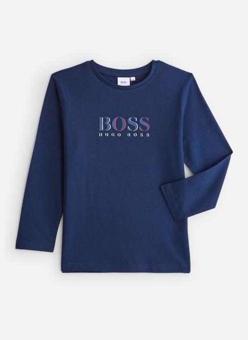 Kleding BOSS T-shirt J25E45 Blauw detail