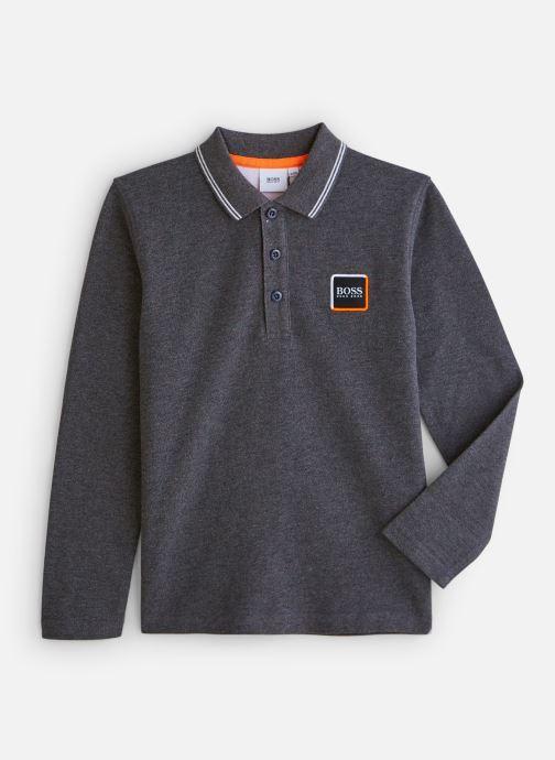 Vêtements BOSS Polo J25E30 Gris vue détail/paire