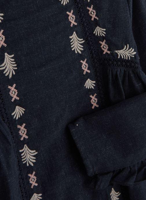 Vêtements Carrement Beau Robe Y12195 Bleu vue portées chaussures