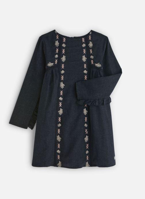 Vêtements Carrement Beau Robe Y12195 Bleu vue détail/paire