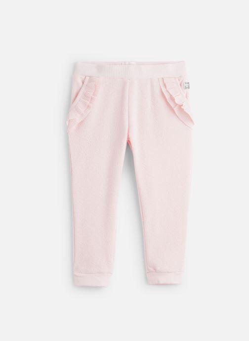 Vêtements CARREMENT BEAU Pantalon Y14136 Rose vue détail/paire