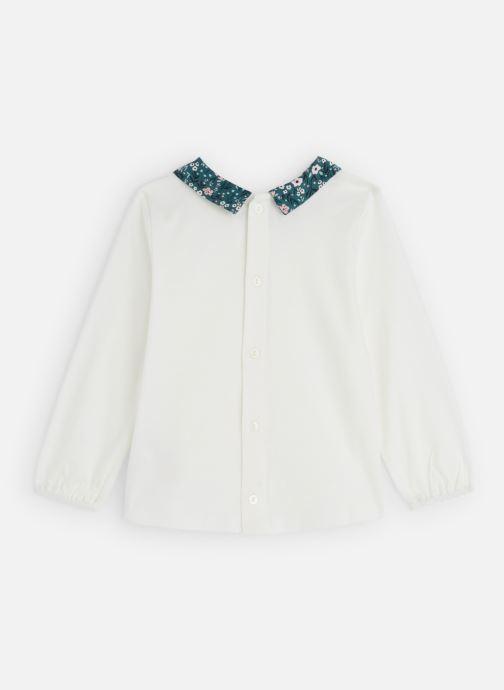 Vêtements CARREMENT BEAU T-shirt Y15307 Blanc vue bas / vue portée sac