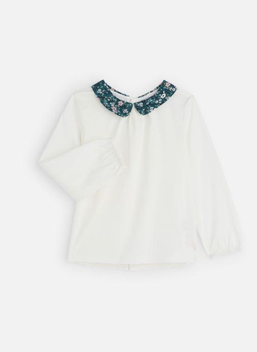 Vêtements CARREMENT BEAU T-shirt Y15307 Blanc vue détail/paire