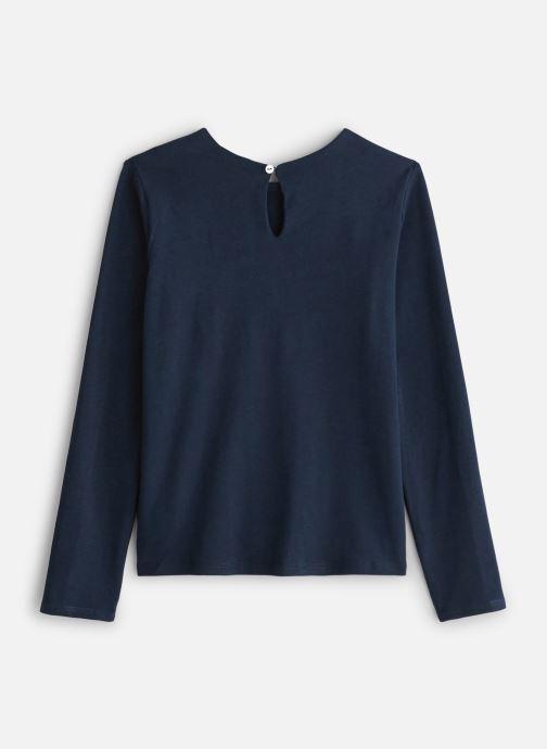 Vêtements CARREMENT BEAU T-shirt Y15309 Bleu vue bas / vue portée sac