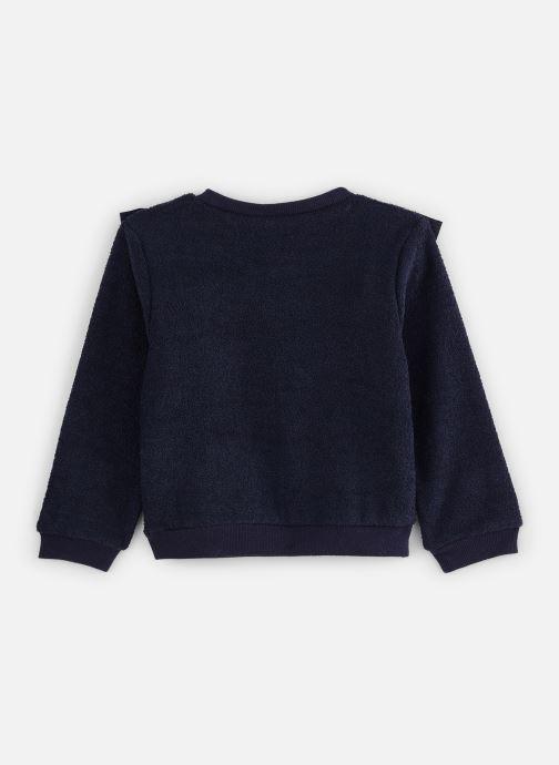 Vêtements CARREMENT BEAU Sweat Y15314 Bleu vue bas / vue portée sac
