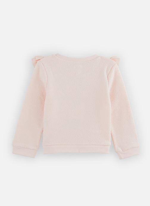 Vêtements CARREMENT BEAU Sweat Y15314 Rose vue bas / vue portée sac